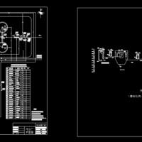 某污水处理厂平面和高程设计图(课设)
