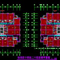 宁夏某高层公寓楼采暖施工图