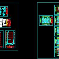 山西太原某公寓楼采暖设计CAD图纸
