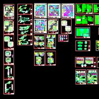 68842平米高层综合楼暖通空调及防排烟设计CAD图纸(详细)
