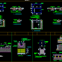 集水坑及排水CAD详图