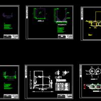 农村沼气池工程全套图