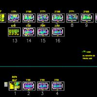三层框架结构幼儿园电气设计CAD施工图(含设计说明)