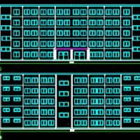 天津5500平米五层框架结构中学办公楼毕业设计(建筑结构 计算书 开题报告)