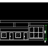 河北某厂区大门设计图纸