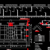 江苏某净水厂毕业设计全套图带计算书(折板絮凝池 平流沉淀池详图)