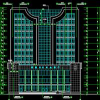 湖南6040平米11层办公楼建结水电全套图(含工程量清单及招标文件)