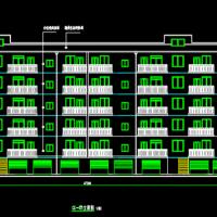 3000平米六层框架结构住宅楼建筑结构全套图(带计算书及开题报告)