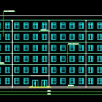 6628平米六层框架结构教学楼课程设计(含开题报告、图纸、任务书、计算书)