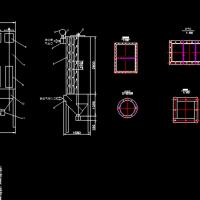 袋式除尘器结构课程设计图纸