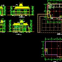 两层会所设计方案图