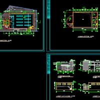 两层超市建筑设计方案图纸