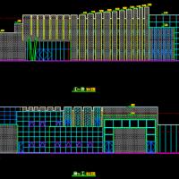 杭州某钢结构售楼部建筑设计施工图纸