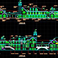 三层商业楼建筑CAD施工图纸