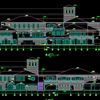 某会所建筑设计方案图纸
