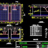500t/d农村生活废水处理工程设计图(SBR池毕业设计)