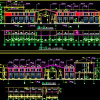 武汉3303平米豪华会所设计建筑图纸