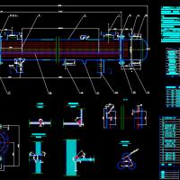 管壳式换热器设计图纸