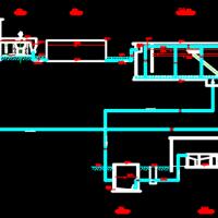 某污水厂设计图纸(含污水厂总平面)