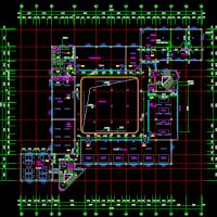 某大学4185平米建工实验楼建筑结构暖通电气装修全套图纸