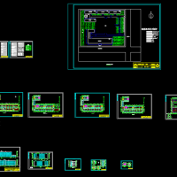 7050平米4层框架结构教学楼全套课程设计(含任务书 计算书 建筑结构图 )