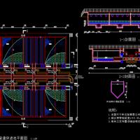 10万t/d给水厂课程设计图(含说明书)