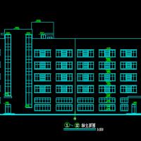 浙江5层框架结构办公楼建筑及结构毕业设计图纸