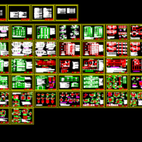 07FG防空地下室设计荷载与结构构造CAD图纸