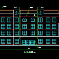 贵州毕节4688平米幼儿园及综合楼建筑结构全套图纸