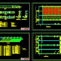 某污水处理厂CASS工艺设计CAD施工图纸