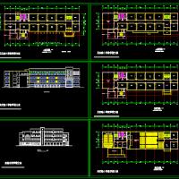 江苏6458平米实验小学教学楼方案图纸
