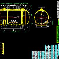 液氨储罐CAD图纸