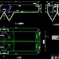 平流式沉池CAD图纸