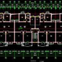 3470平米六层砖混住宅毕业设计(计算书、答辩PPT、建筑、结构图)