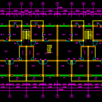 唐山2454平米六层砖混结构住宅楼毕业设计(计算书 施工进度 施工总平)
