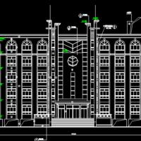 某中学综合楼建筑设计图纸