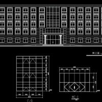 东北5443平米5层框架办公楼毕业设计(含计算书,建筑、结构图)