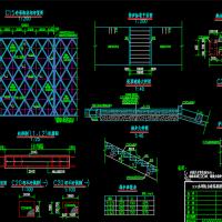 某河道防洪整治及生态修复工程CAD图纸