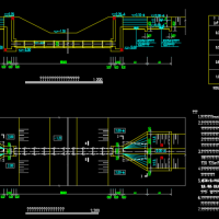 预制混凝土圆管竖井式倒虹吸结构设计详图(含细部)