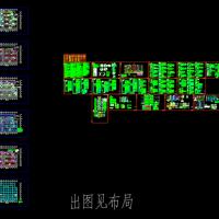 山东某小区住宅楼及车库电气施工图纸(甲级设计院)