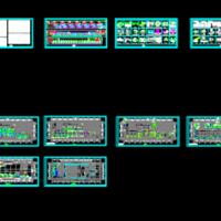 某大型医院手术部空调净化工程设计施工图(ICU手术室)