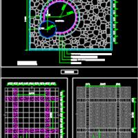 十八种广场铺装详图CAD集锦