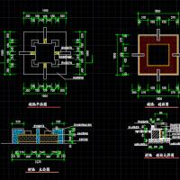 各种不同树池设计详图(共20张)