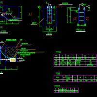 常用太阳能路灯设计CAD图纸