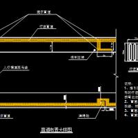 道路盲道设计大样CAD图纸(带说明)