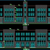 安徽阜阳2759平米3层框架结构丙类厂建筑及结构全套图纸