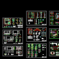 4t/h燃煤锅炉房建筑及结构设计施工图纸