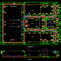 南昌污水处理厂MSBR工艺设计全套图(带说明)