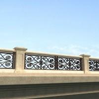 石材及铸铁桥梁栏杆详细设计图纸
