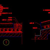 种植屋面土壤端头构造CAD图
